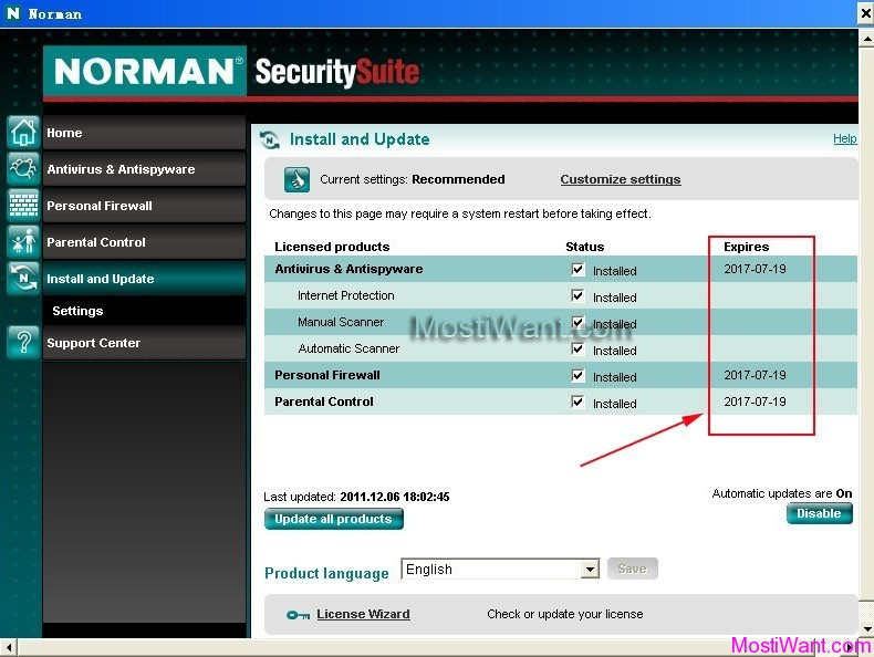 Norman Security Suite Free Download 4 years License Key