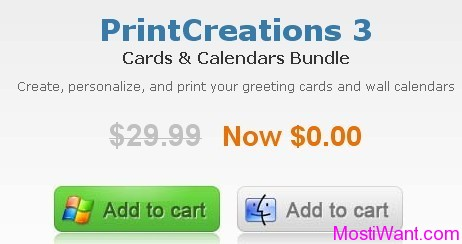 Free Download Print Creations 3 Cards & Calendars Bundle