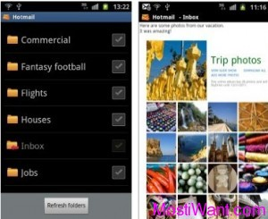 Official Hotmail Mobile App for Kindle Fire