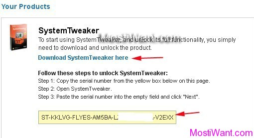 Uniblue System Tweaker 2012 Serial Key