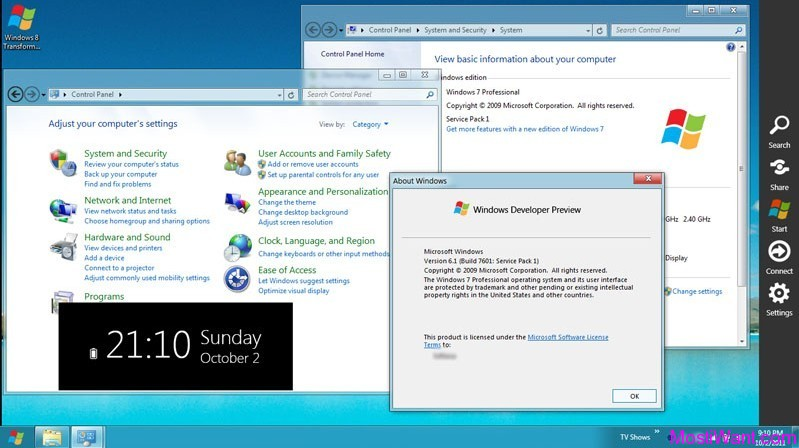 Windows 8 Transformation Pack - Windows 7 Desktop