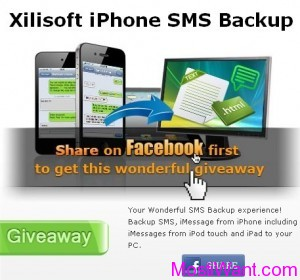 Xilisoft iPhone SMS Backup Software Free Download