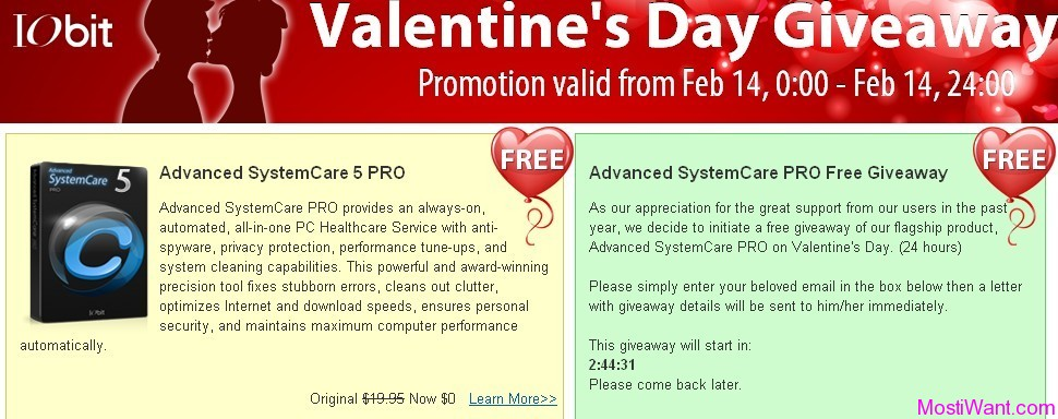 Advanced SystemCare 5 PRO for Free Download