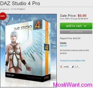 DAZ Studio 4 Pro Serial Number For Free