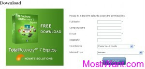 FarStone TotalRecovery 7 Express Free Download