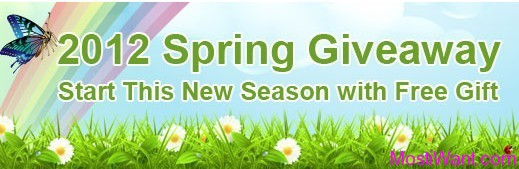 MacXDVD 2012 Spring Giveaway Promotion