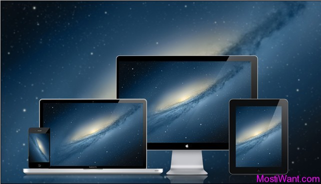 Mac OS X Mountain Lion New Default Wallpaper