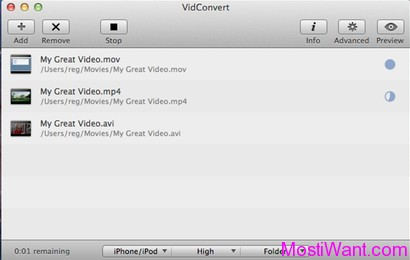 VidConvert for MAC