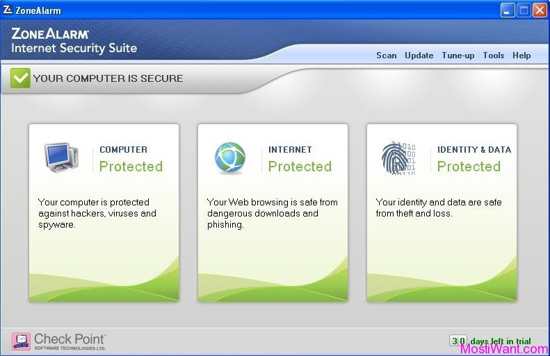ZoneAlarm Internet Security Suite 2012
