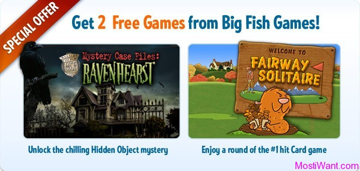2 Free Games from Big Fish Games