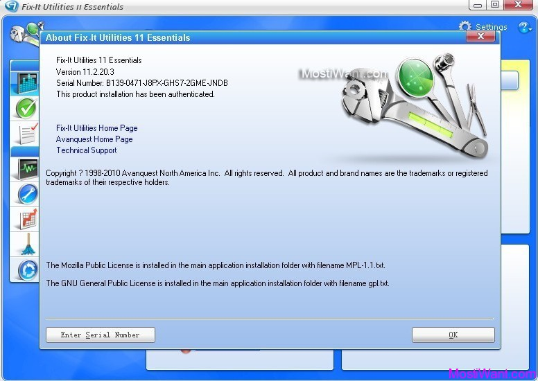 About Fix-It Utilities 11 Essentials Installation