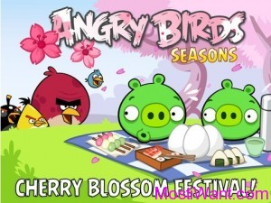 Angry Birds Seasons Cherry Blossoms