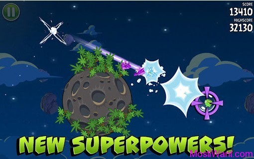 Angry Birds Space New Superpowers