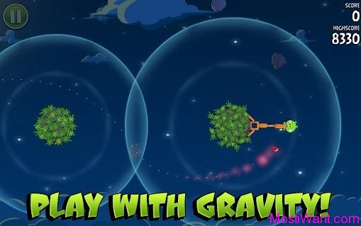 Angry Birds Space Play With Gravity