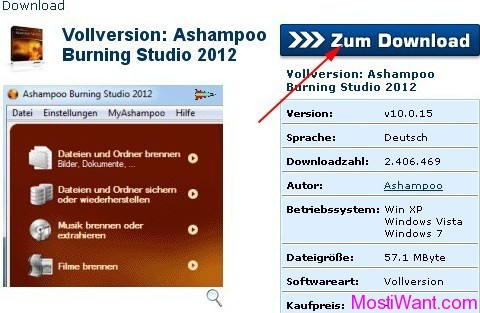 Ashampoo Burning Studio 2012 Free Download