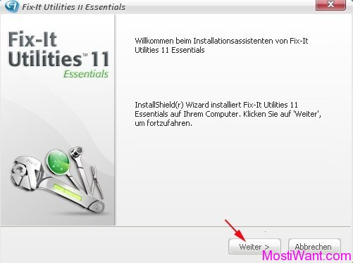Fix-It Utilities 11 Essentials Installation 1