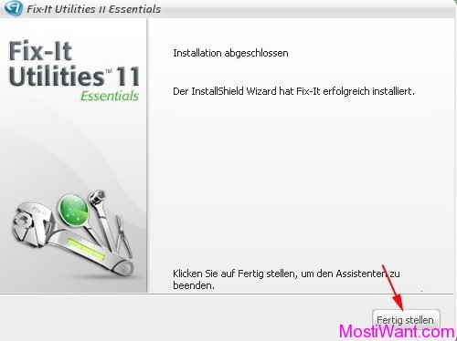 Fix-It Utilities 11 Essentials Installation 7