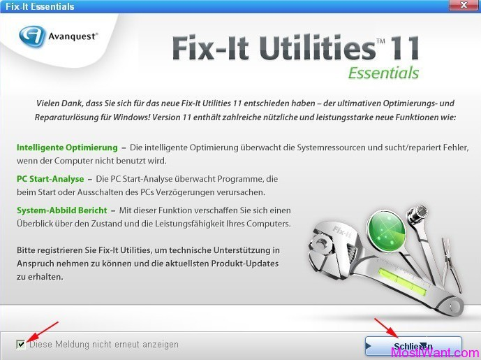 Fix-It Utilities 11 Essentials Installation 8
