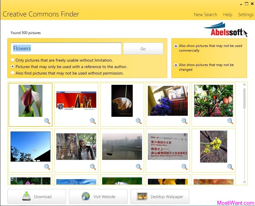 CCFinder: Free Images and Photos Finder