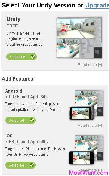 Unity Game Engine Free For Android & iOS