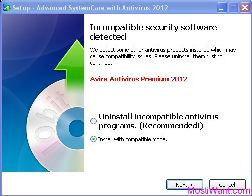 Advanced SystemCare with Antivirus 2012 Compatible Mode