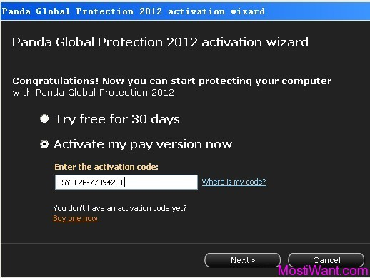 Active Full Version Panda Global Protection 2012 1