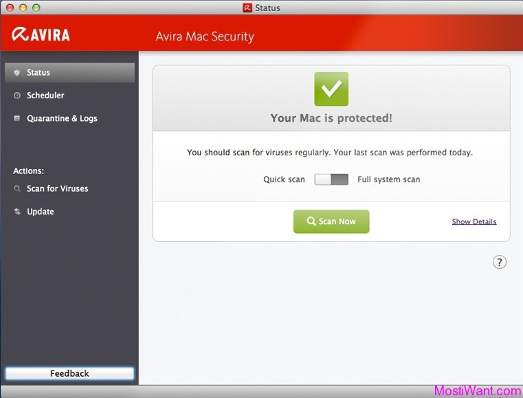 Avira Free Mac Security: Avira Free Antivirus for Mac OS X