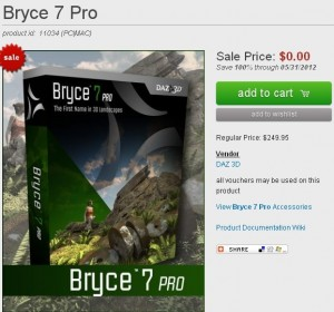 Bryce 7 Pro Free Full Download
