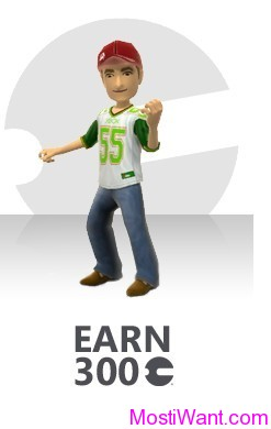 FREE 300 Microsoft Points from Xbox LIVE Rewards