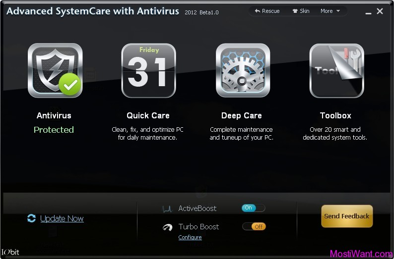 IObit Advanced SystemCare with Antivirus 2012