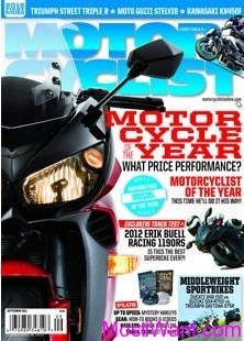 MOTORCYCLIST  Free One-year (12-issues) Subscription