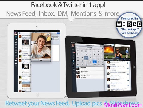 MyPad for Facebook & Twitter for iPad