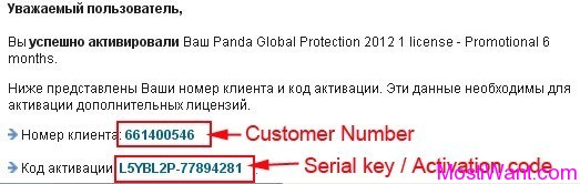 Panda Global Protection 2012 Free Serial Key