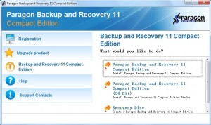 Paragon Backup & Recovery 11 Compact