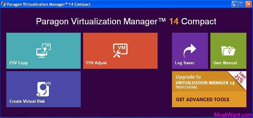 Paragon Virtualization Manager 14 Compact