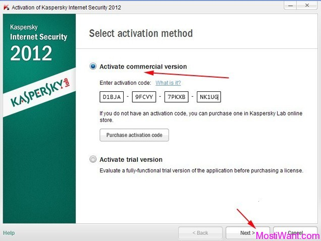 Active Kaspersky Internet Security 2012
