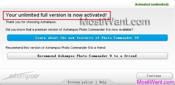 Ashampoo Photo Commander 9 Free Full Version