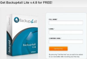 Backup4all Lite 4.8 Free Giveaway