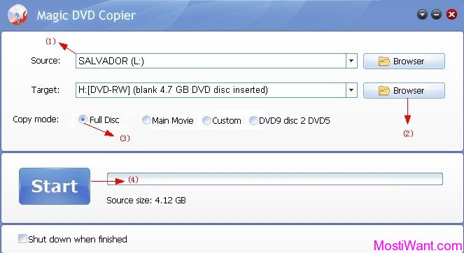 Magic DVD Copier for Mac