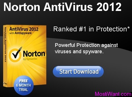 Norton AntiVirus 2012 Free 6 Months Trial Download
