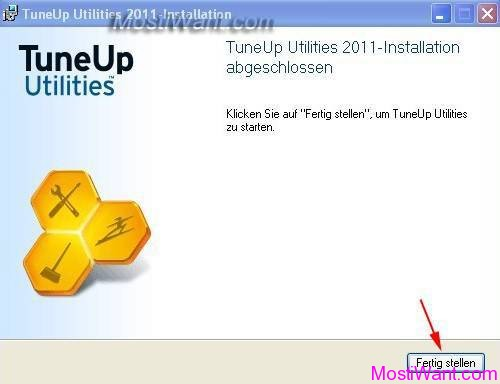 TuneUp Utilities 2011 German Installation Process