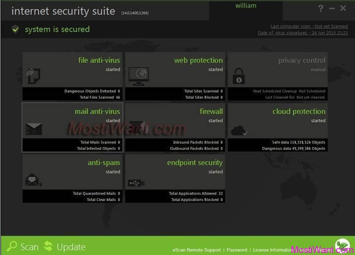 eScan Internet Security Suite 14