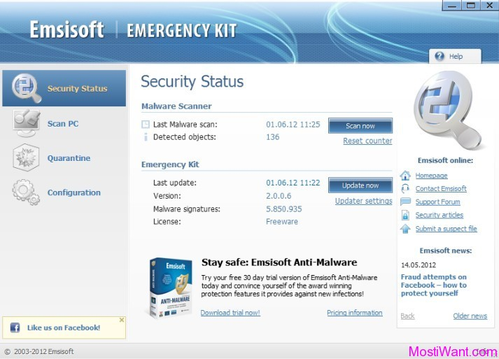 Emsisoft Emergency Kit 2