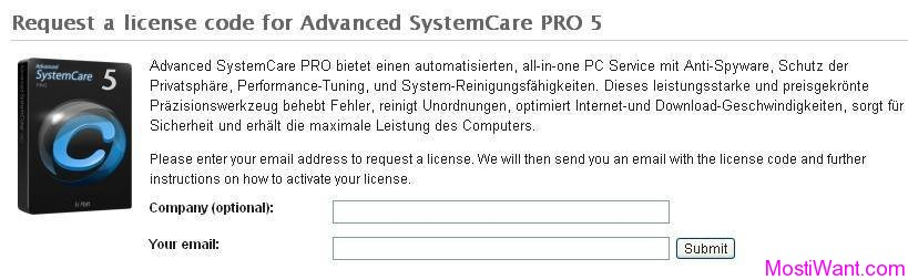 IObit Advanced SystemCare Pro 5 Free Giveaway