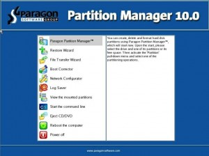 Paragon Partition Manager 10 for Virtual Machines