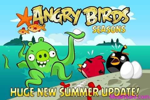 Angry Birds Seasons for iPhone, iPod, iPad