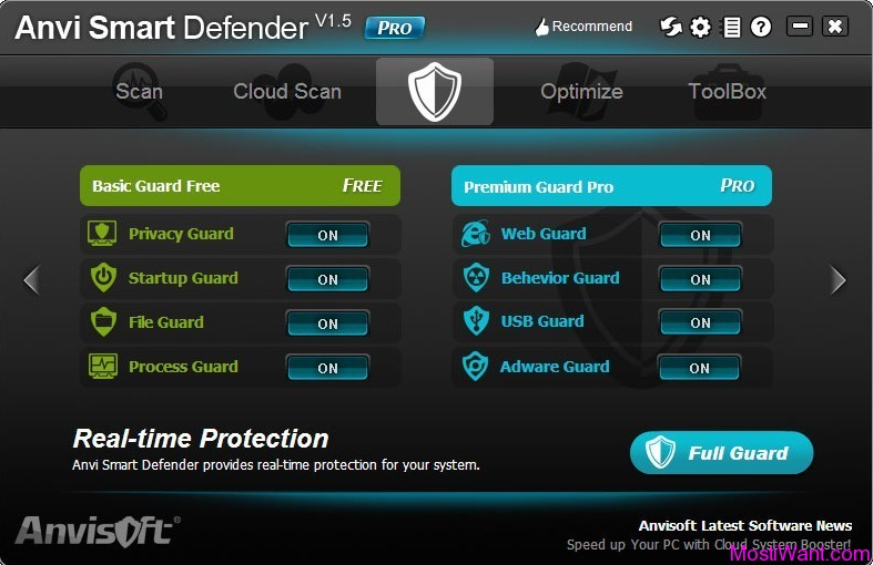 Anvi Smart Defender Pro Real-time Guard