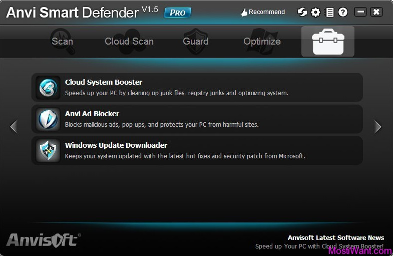 Anvi Smart Defender Pro ToolBox