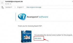 Expert PDF 7 Converter Giveaway Email