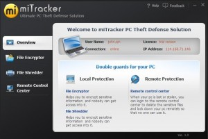 MiTracker Laptop Anti Theft Software